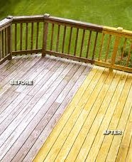 Deck, Power Washing Services in College Station, TX
